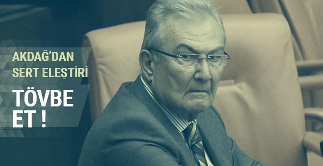 Bakan Akdağ, Baykal'ı o sözler için eleştirdi: Hiç lafı çevirme