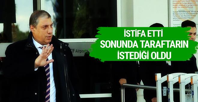 Galatasaray'da Levent Nazifoğlu istifa etti