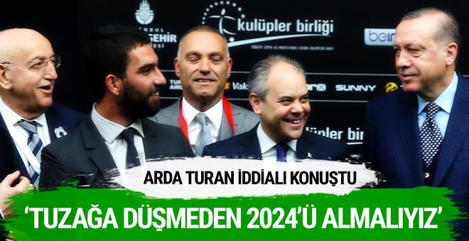 Arda Turan iddialı konuştu: Artık sıra bizde!