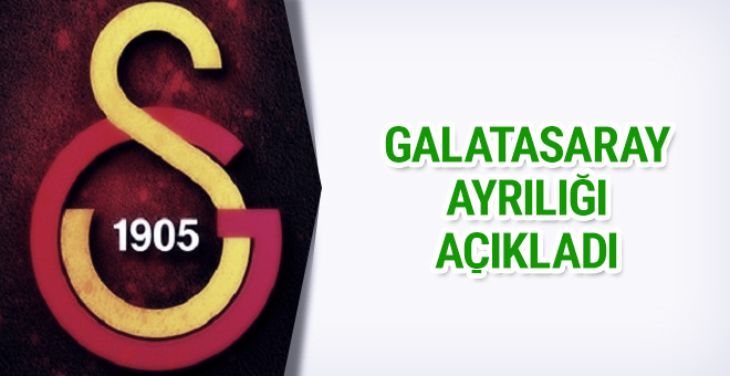 Galatasaray ayrılığı KAP'a bildirdi
