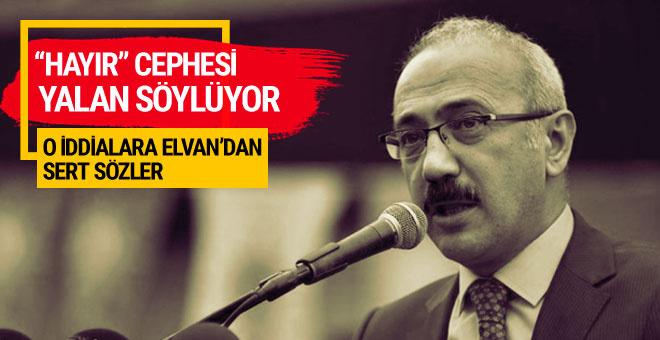 Elvan'dan federasyon iddialarını yalanladı