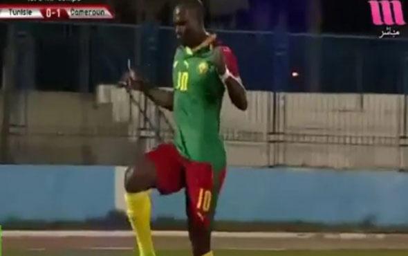Aboubakar'dan nefis gol! Yine Kamerun'u sırtladı