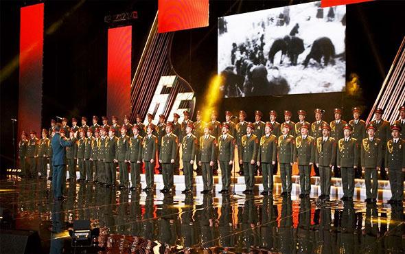 Kızıl Ordu Korosu'nun yurtdışındaki ilk durağı İstanbul
