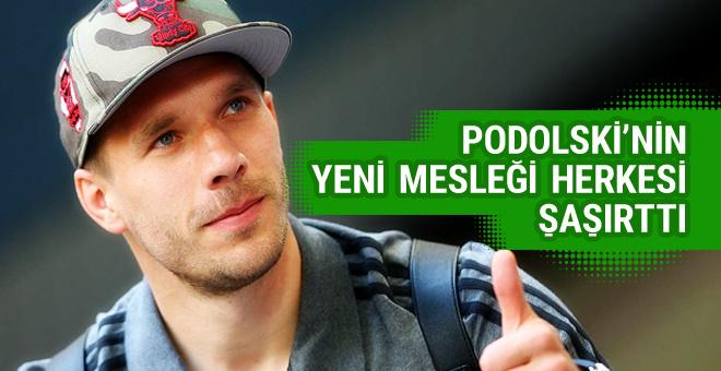 Lukas Podolski'nin yeni mesleği herkesi şaşırttı