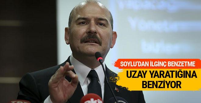 Soylu'dan Kılıçdaroğlu'na uzaylı benzetmesi