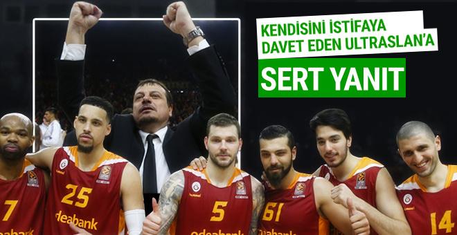 Ergin Ataman'dan istifa çağrılarına yanıt