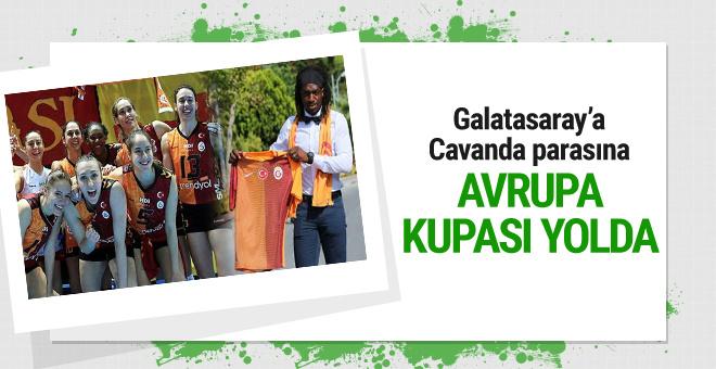 Galatasaray'a Cavanda parasına Avrupa Kupası yolda