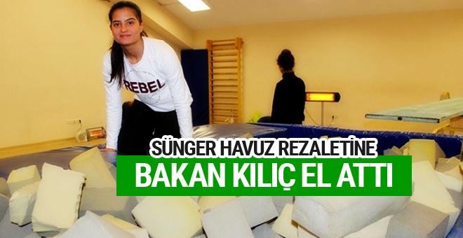 Sünger havuzda antrenman rezaletine bakan Akif Kılıç el attı