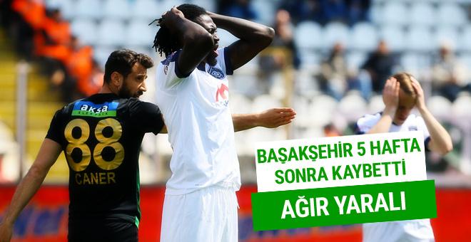 Akhisar - Başakşehir maçının dakika dakika özeti