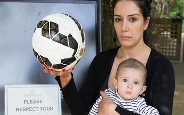 Fabregas 6 aylık bebeği hastanelik etti