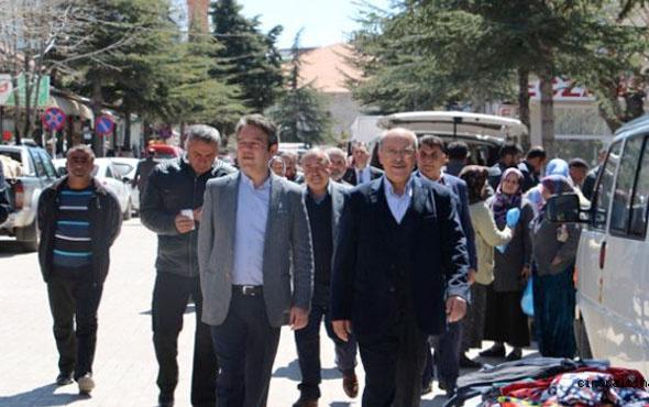 MHP ve AK Partililer Isparta Yalvaçta birlikte yürüdü