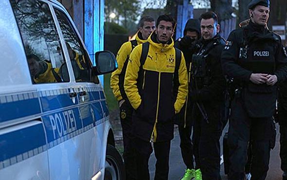 Dortmund'da maç öncesi patlama ile ilgili 1 kişi tutuklandı