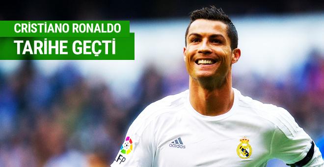 Cristiano Ronaldo Avrupa tarihine geçti