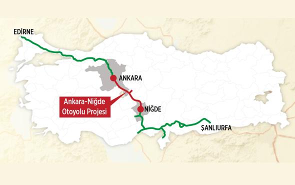 Edirne'den Urfa'ya kesintisiz ulaşım işte o yol!