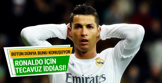 Dünya bunu konuşuyor! Ronaldo için tecavüz iddiası...
