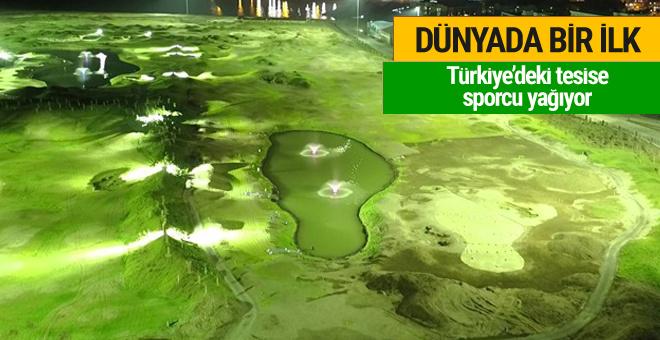 Türkiye'deki tesise sporcu yağıyor