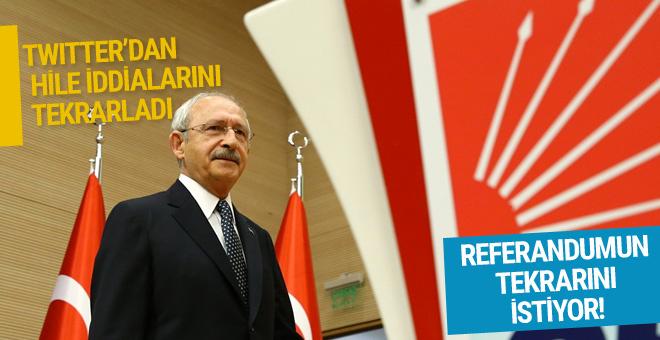 Kılıçdaroğlu milli iradeyi yine yok saydı!