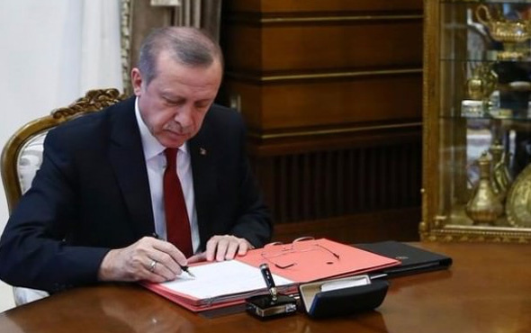 Erdoğan'dan 3 üniversiteye yeni rektör