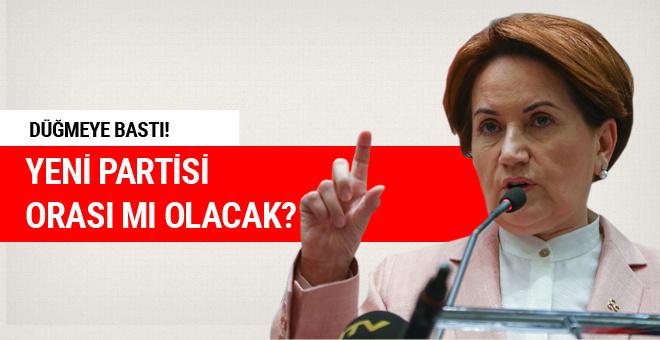 Meral Akşener'in yeni partisi orası mı olacak?