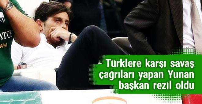 Fenerbahçe Panathinaikos'un başkanını çıldırttı