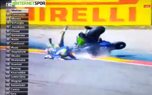 Kenan Sofuoğlu, İspanya'daki yarışta ölümden döndü