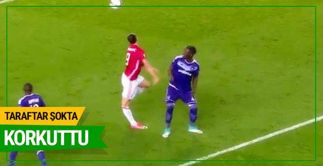 Zlatan Ibrahimovic'in korkutan görüntüsü