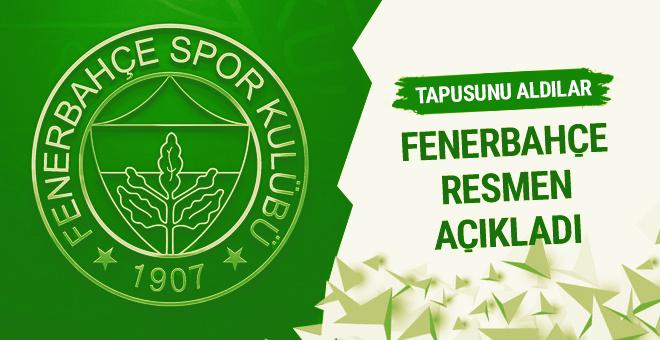 Fenerbahçe Topuk Yaylası Tesisleri'nin tapusunu aldı