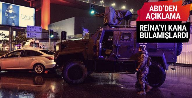 ABD'den flaş Reina saldırısı açıklaması