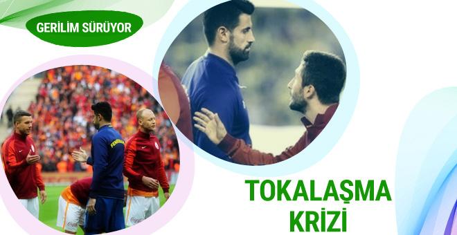 Sabri Sarıoğlu Volkan Demirel'in elini sıkmadı