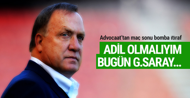 Dick Advocaat'tan Galatasaray itirafı