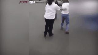 Kadınların kavgasını kimse ayıramadı