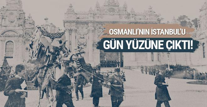 Osmanlı'nın İstanbul'u gün yüzüne çıktı! Görülmemiş kareler