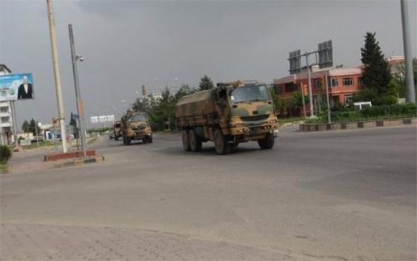 TSK'dan Suriye sınırına dev askeri sevkiyat