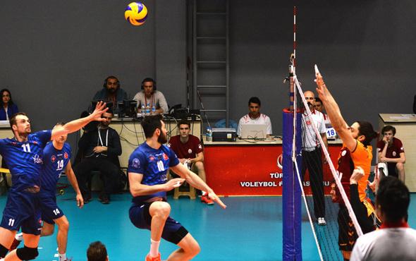 Galatasaray'ı yenen Halkbank yarı finalde