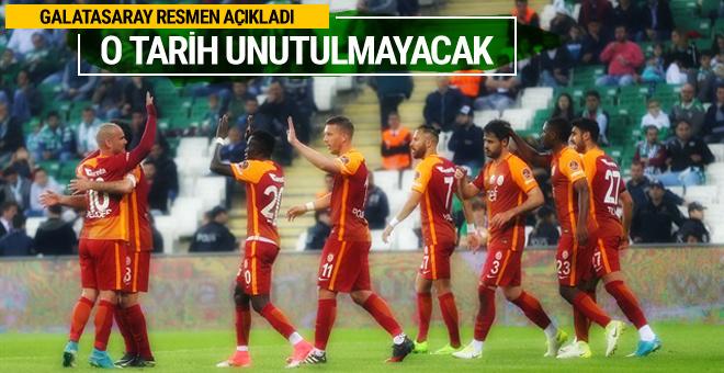17 Mayıs 'Galatasaray Bayramı' olarak kutlanacak