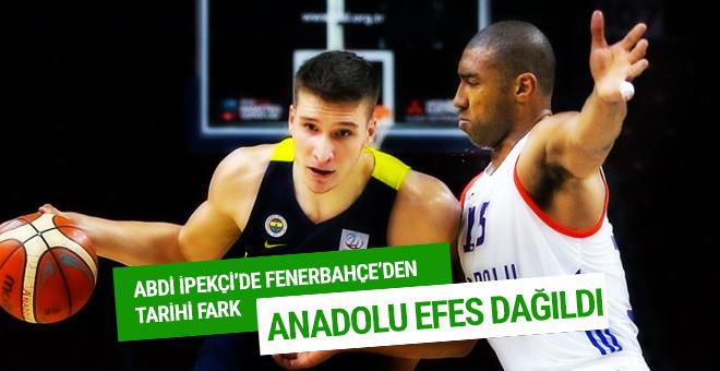 Anadolu Efes - Fenerbahçe maçı sonucu ve özeti