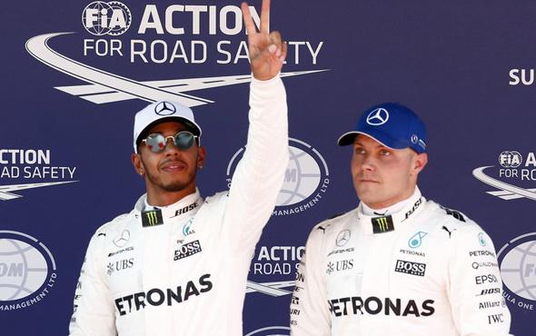 İspanya'da avantaj Lewis Hamilton'da