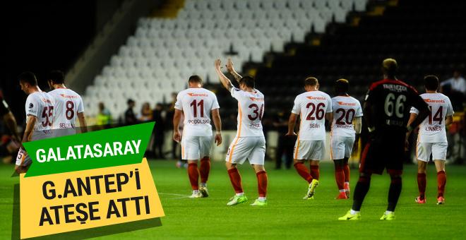 Gaziantepspor Galatasaray maçı golleri ve geniş özeti