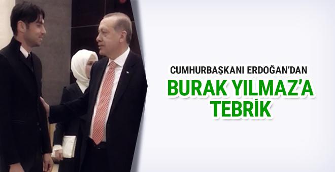 Burak Yılmaz Cumhurbaşkanı Erdoğan'ı ziyaret etti