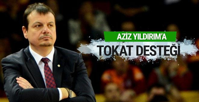 Ergin Ataman'dan Aziz Yıldırım'a tokat desteği!