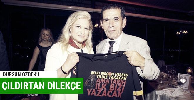 Dursun Özbek'in eşinin üyelikten atılması istendi!