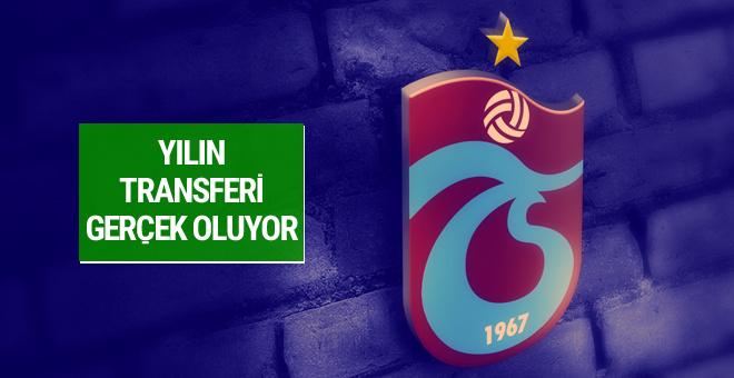 Trabzonspor yılın transferini gerçekleştiriyor