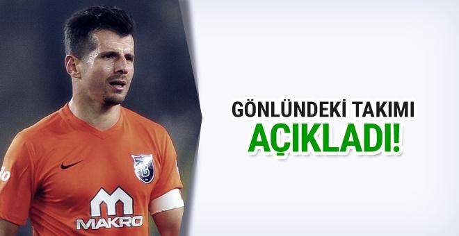Emre Belözoğlu gönlündeki takımı açıkladı