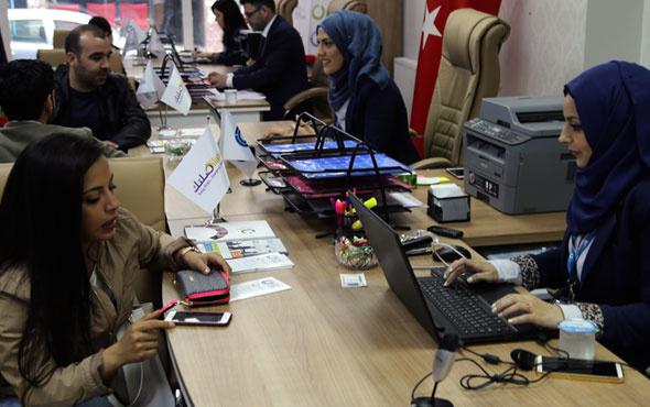 İstanbul'da Suriyeliler için iş bulma ofisi açıldı