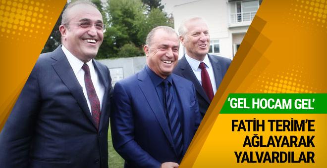 Galatasaray taraftarından Fatih Terim'e geri dön çağrısı