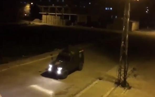 Zırhlı polis aracı, 'Dursun Özbek İstifa' anonsu yaptı.