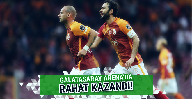 Galatasaray-Osmanlıspor maçı golleri ve geniş özeti