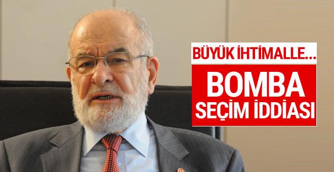 SP Genel Başkanı Karamollaoğlu'ndan bomba seçim iddiası