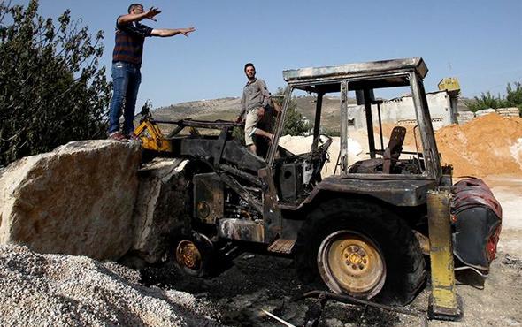 Yahudi yerleşimciler Batı Şeria'da terör estirdi