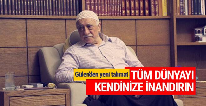 Teröristbaşı Fetullah Gülen'den yeni talimat